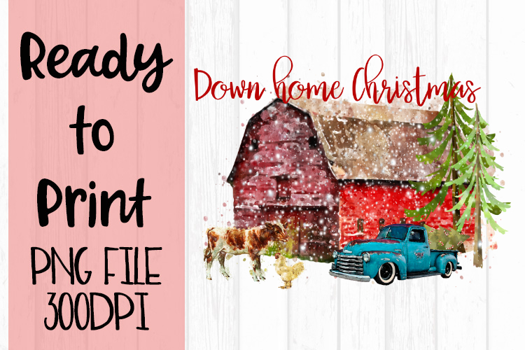 Down Home Christmas Ready to Print example image 1