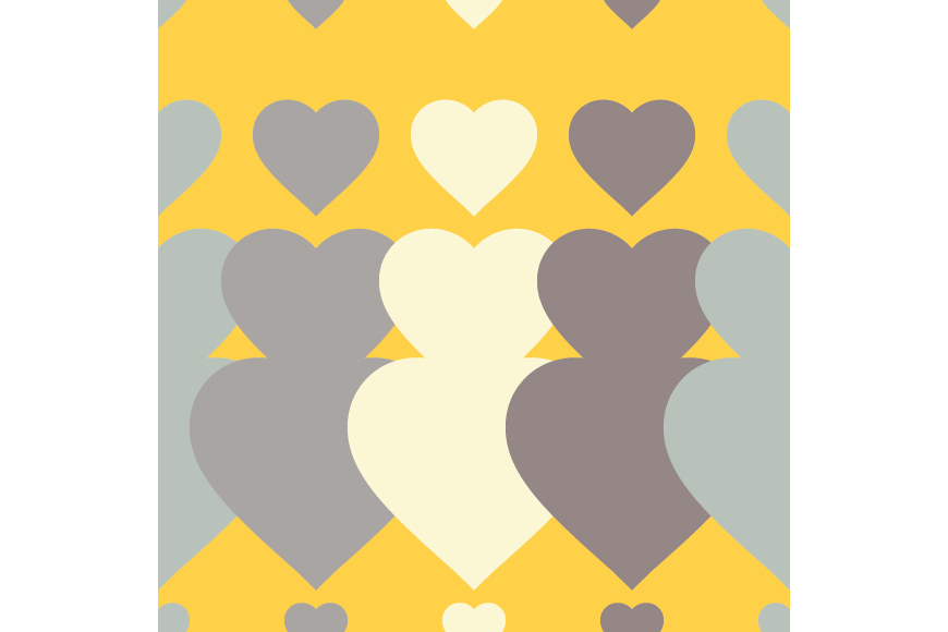 Set of 12 backgrounds with Hearts on Valentine's Day. example image 8
