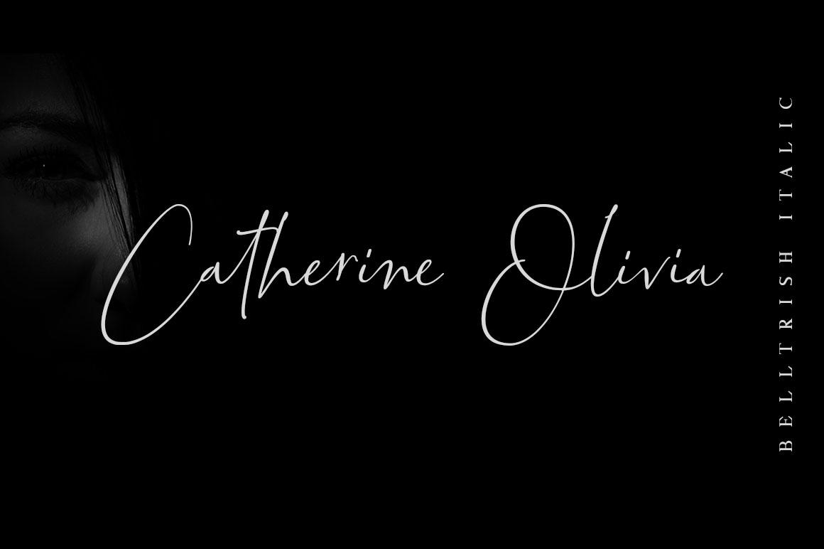 Bettrish // Stylish Signature Font example image 7