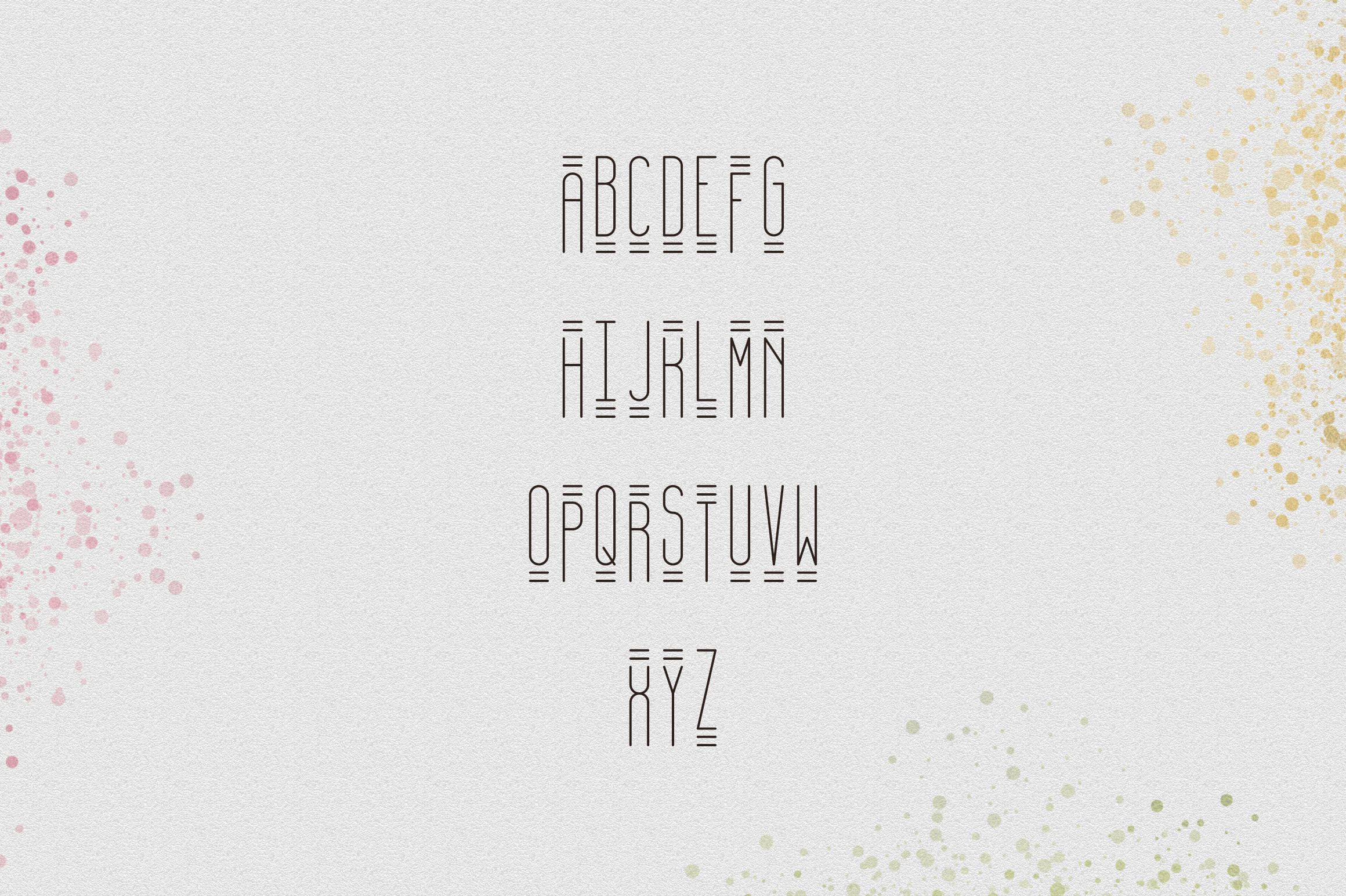 [Spring Vibes] April Display Font example image 8