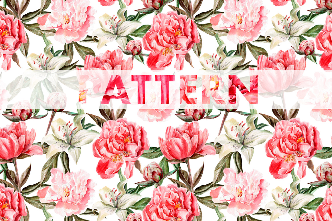 8 bright watercolor patterns example image 5