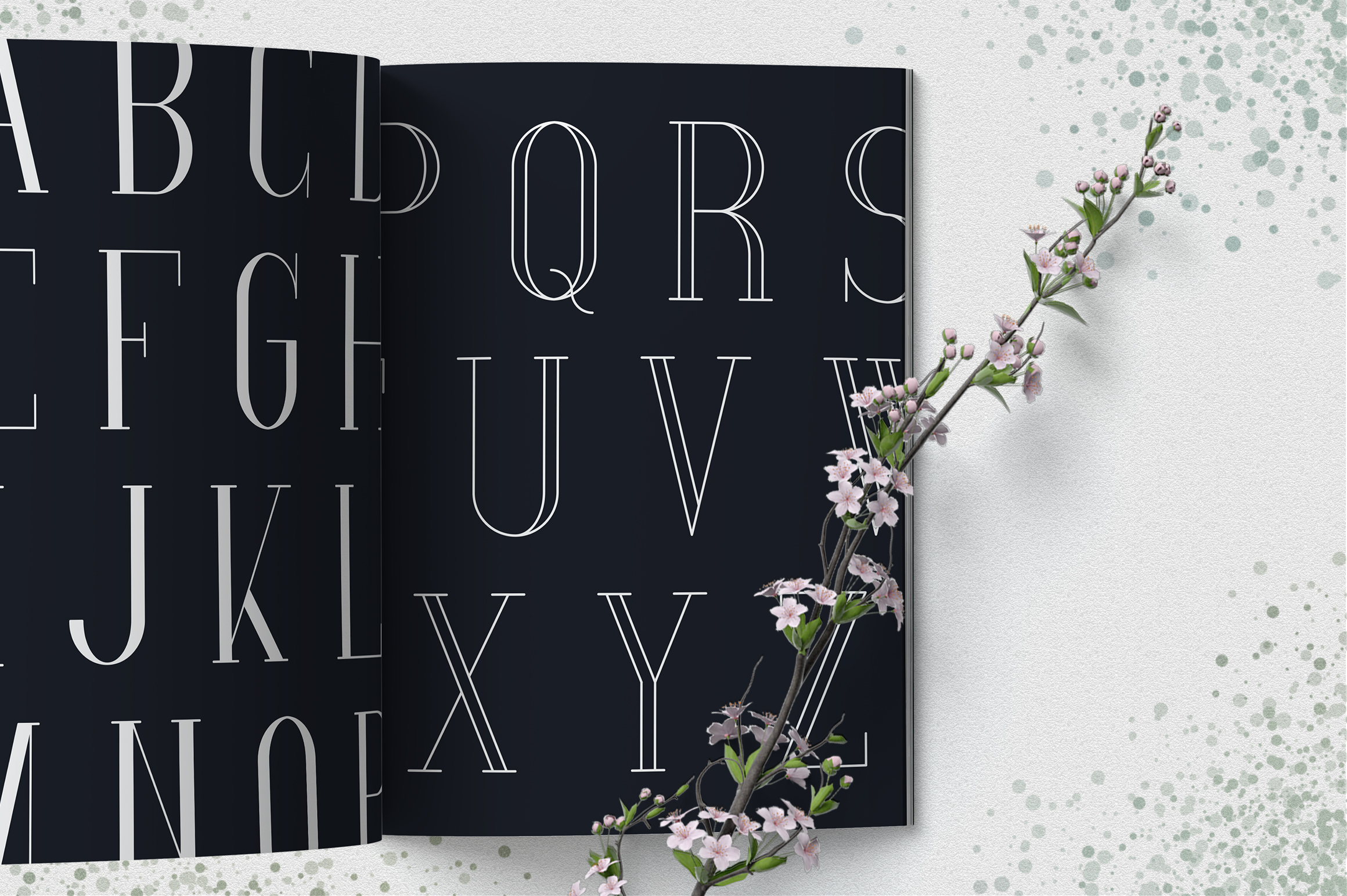 [Spring Vibes] Splendor Font example image 4