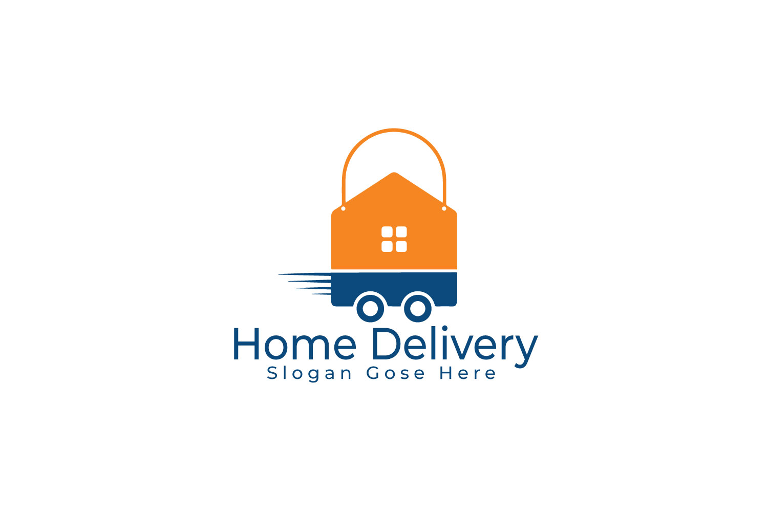 Home Delivery Logo Design. example image 1