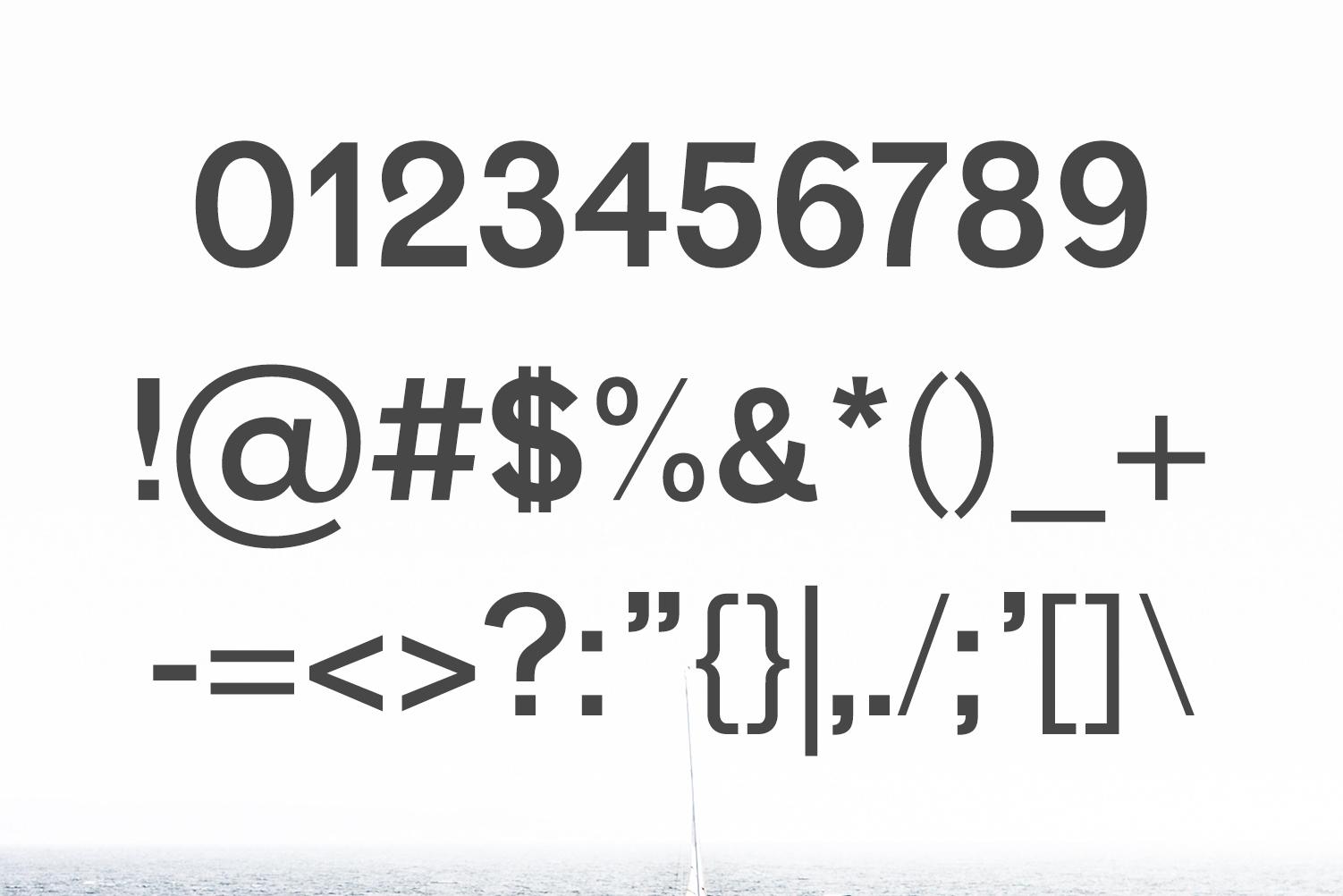 Vengeance Sans Serif Typeface example image 3