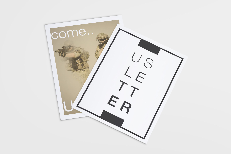 US Letter Flyer / Poster Mockups example image 5