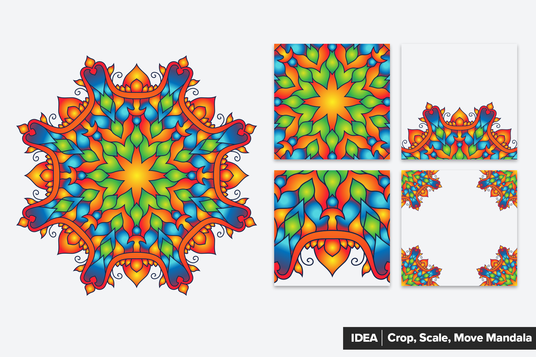 Mandala Vector Ornaments Bundle example image 4