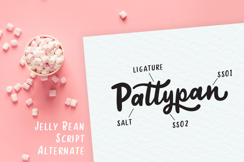 Jellly Bean Script & Sans Fun Font example image 10
