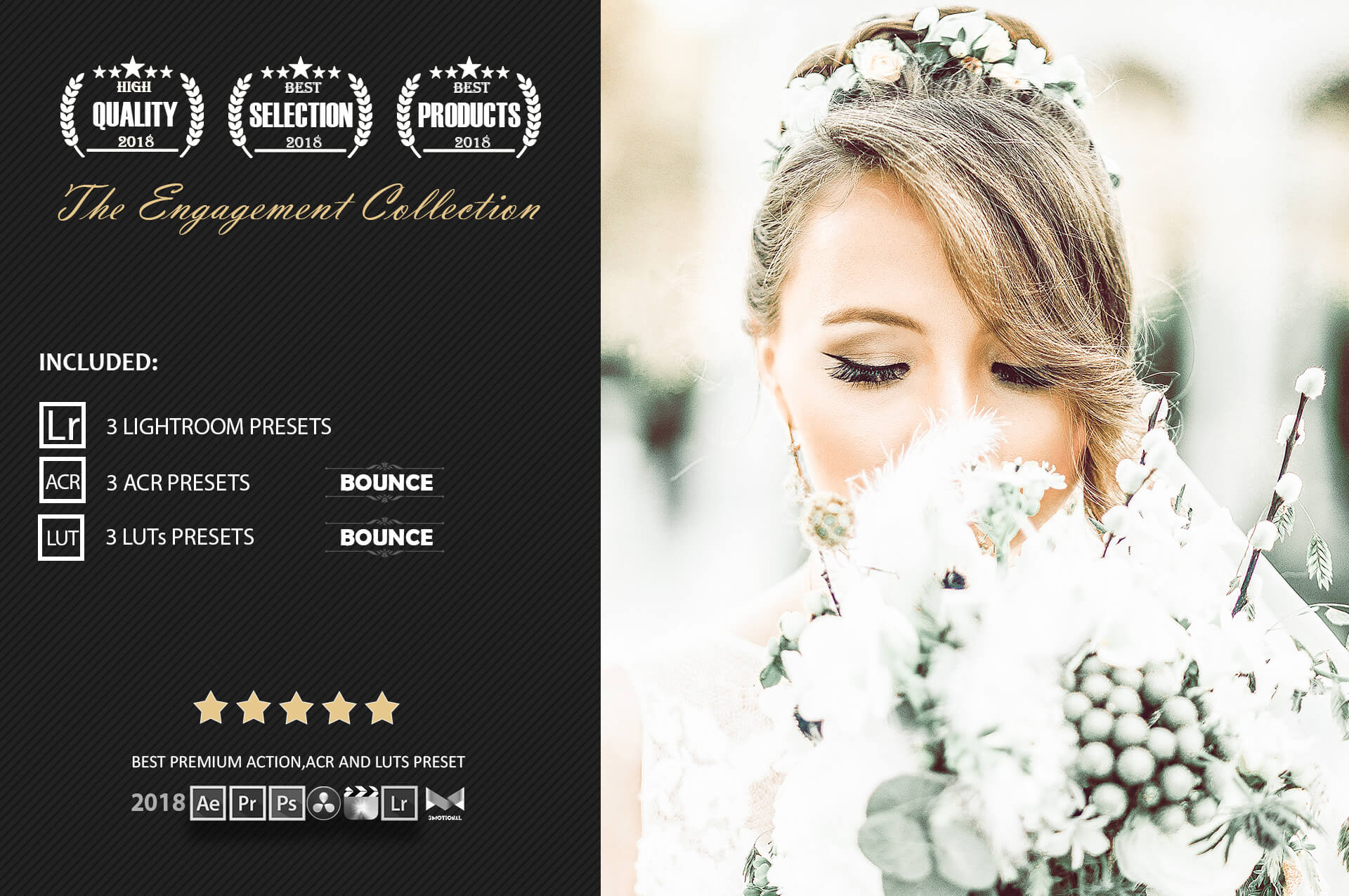 Engagement color grading lightroom presets theme example image 2