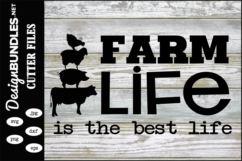 Farm Life SVG example image 1