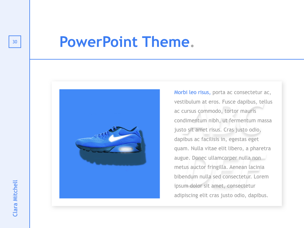 Fashion Designer PowerPoint Template example image 29
