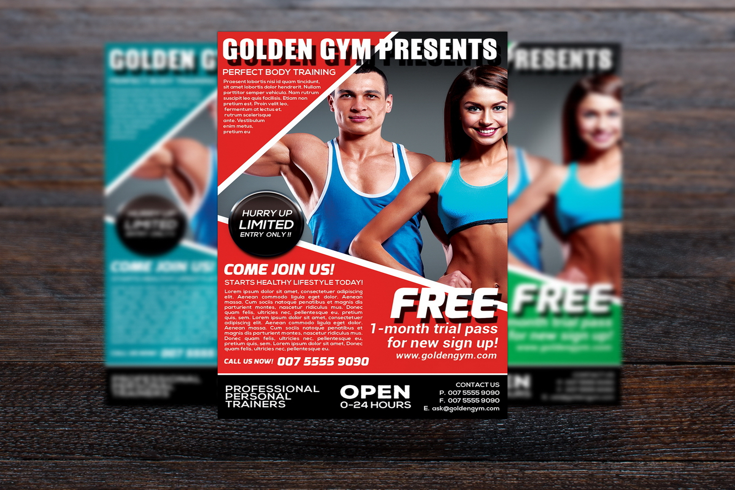 Fitness Sports Flyer example image 1