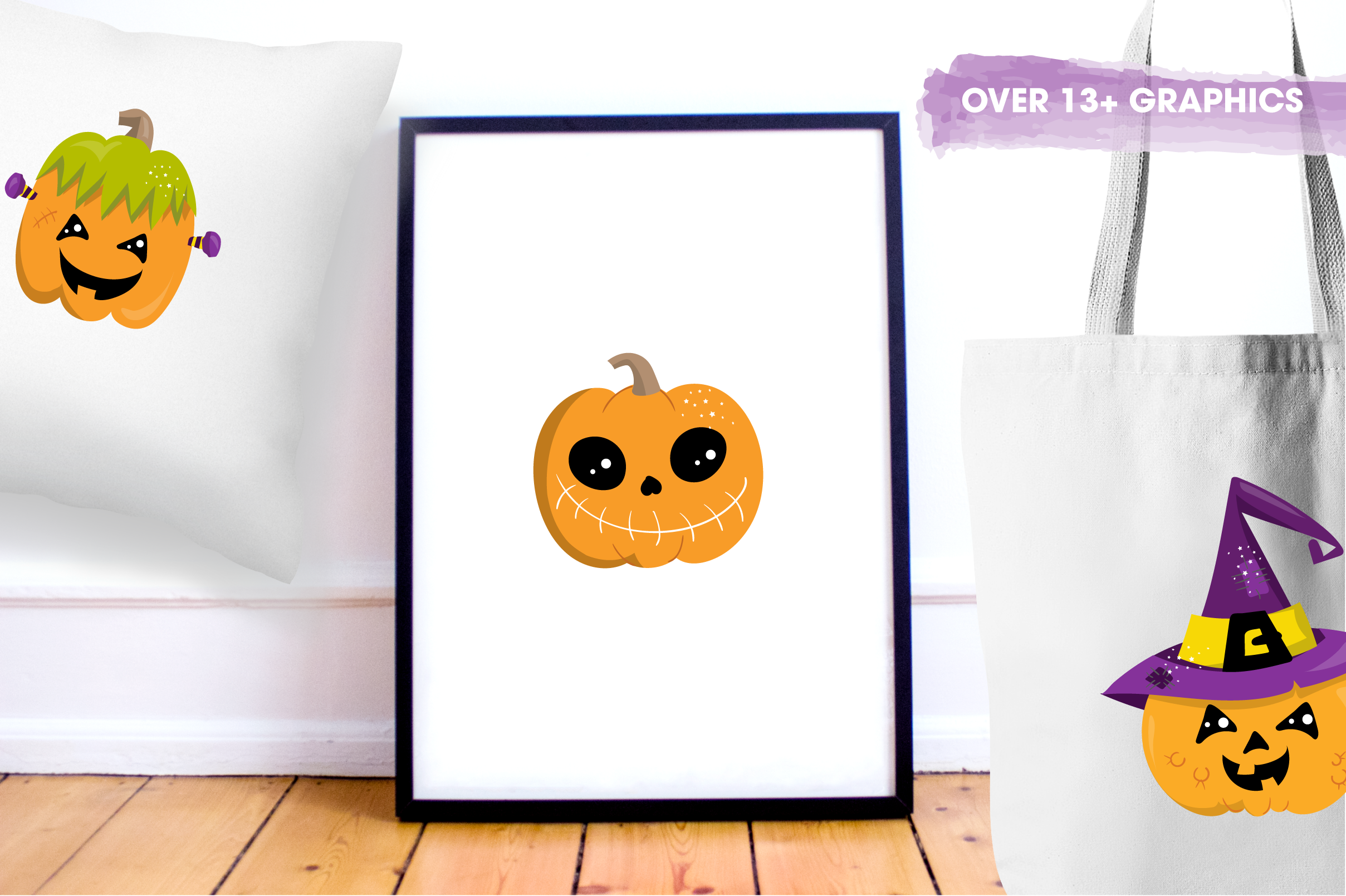 scary pumpkin halloween graphics and illustrations example image 5