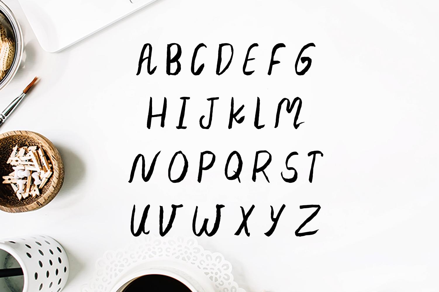 Jennet Brush Font Family example image 3