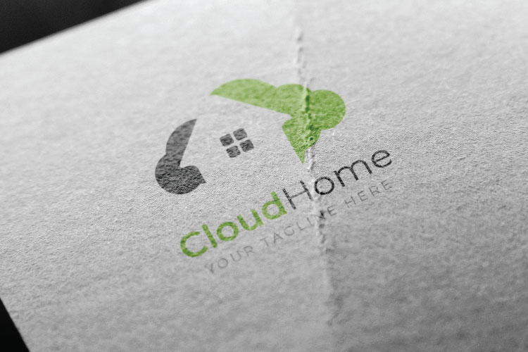 Cloud Home Logo example image 2