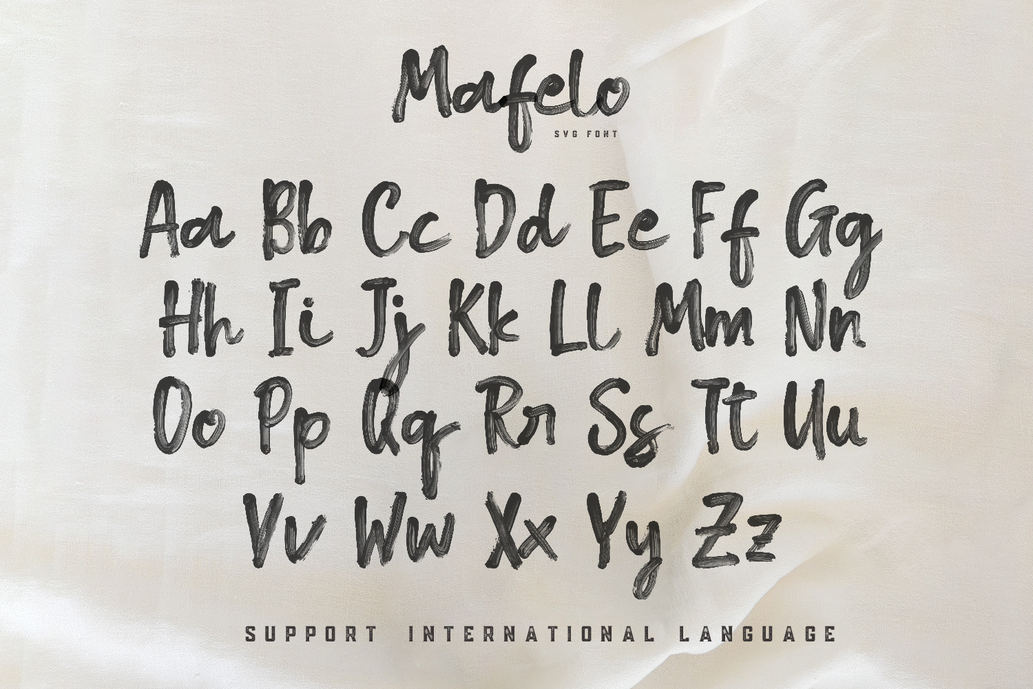Mafelo SVG Font example image 8