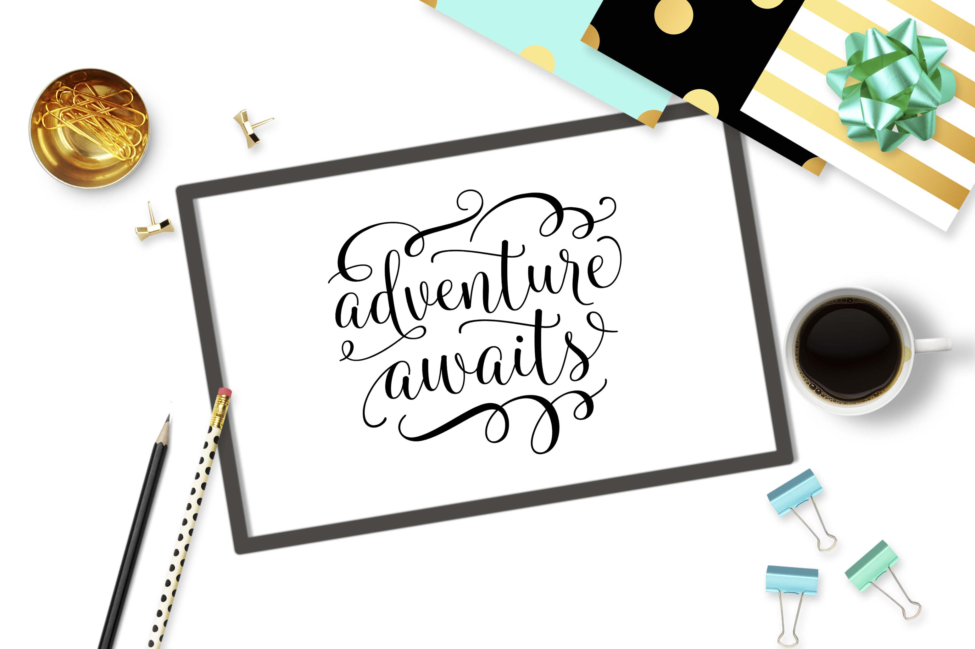 Adventure awaits SVG DXF PNG EPS example image 2