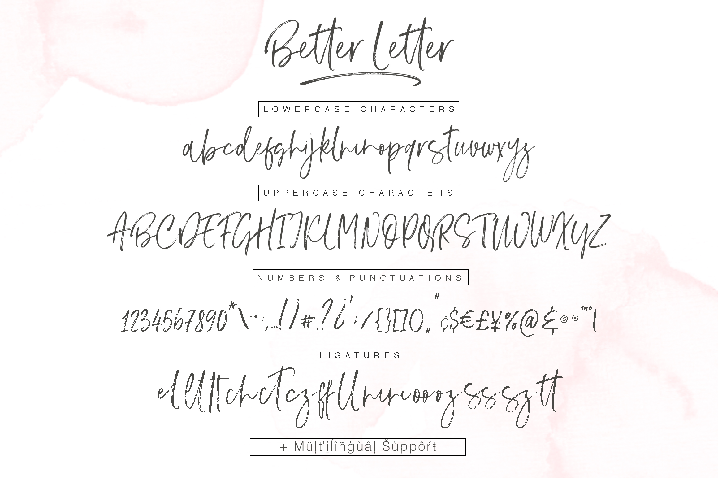 Better Letter Font example image 10