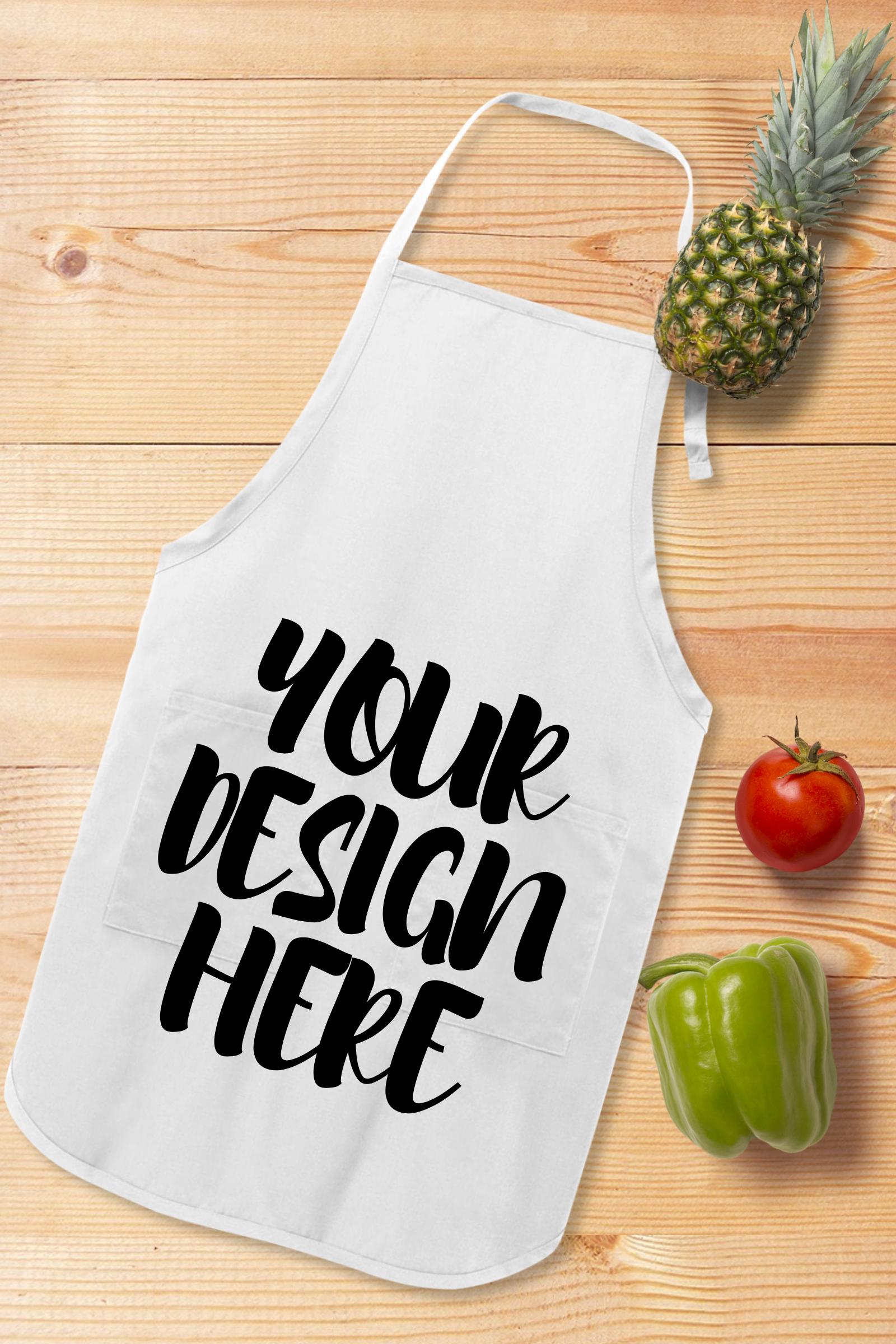 Apron Mock Ups Bundle With Kitchen Theme - 6 example image 5