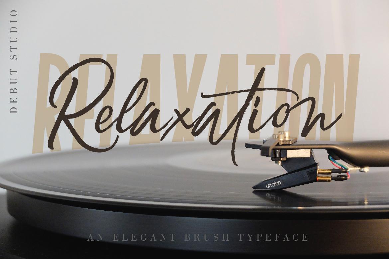 Relaxation // An Elegant Brush example image 1