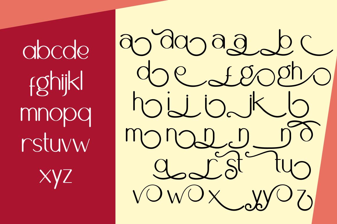 Brighty Sans Script example image 8