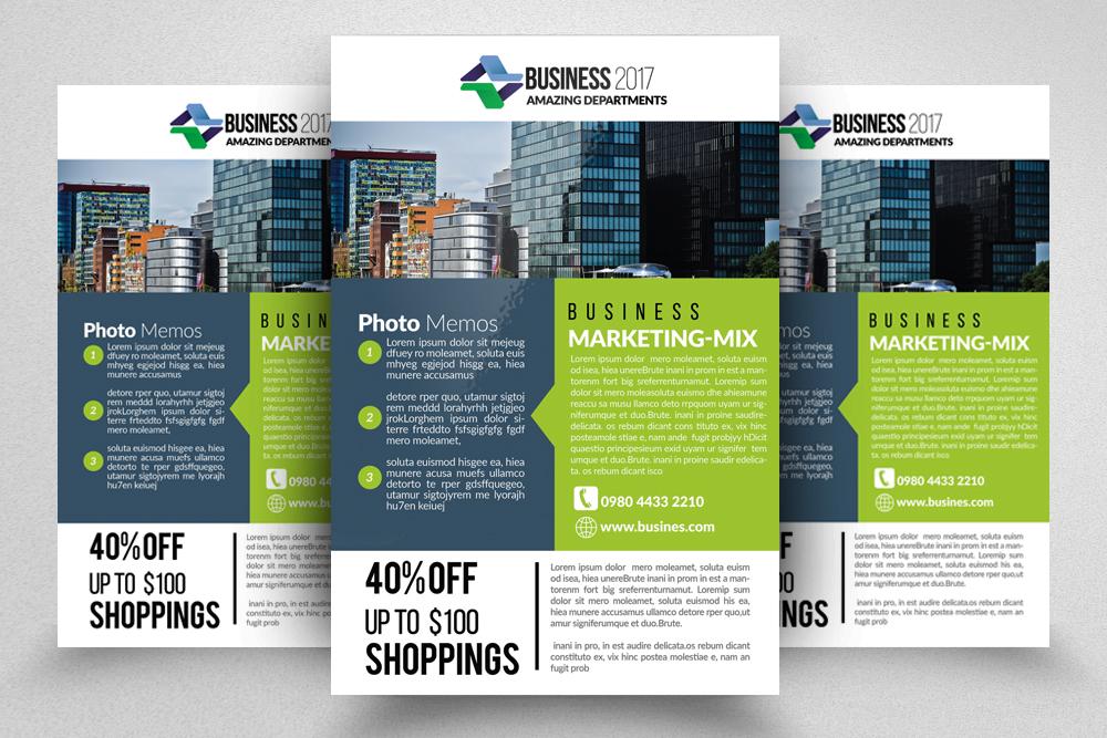 10 Corporate Flyer Templates Bundle example image 3