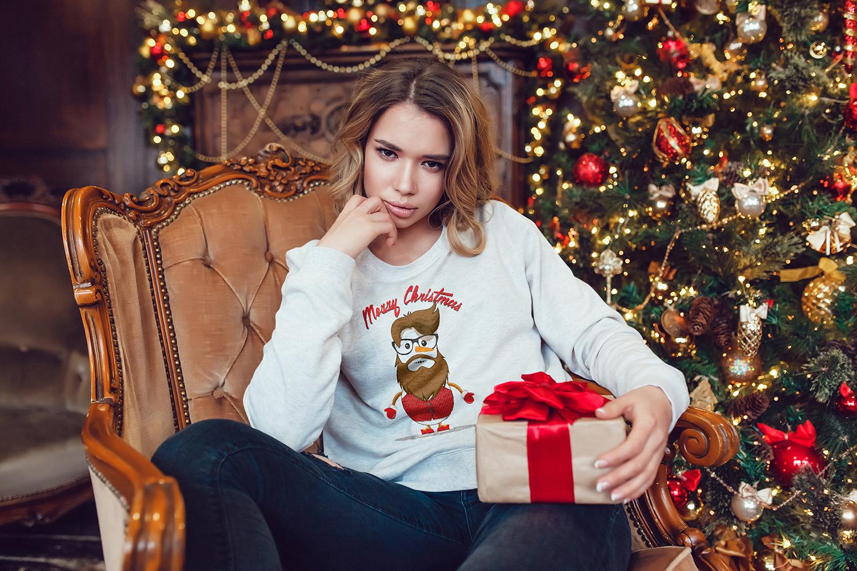 Christmas Sweatshirt Mock-Up example image 9