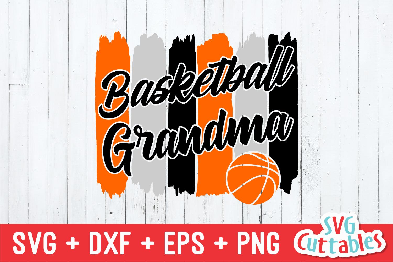 Basketball Grandma | SVG Cut File example image 2