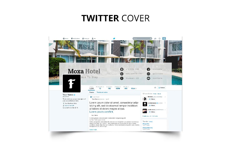 Moxa Hotel Social Media Kit example image 12