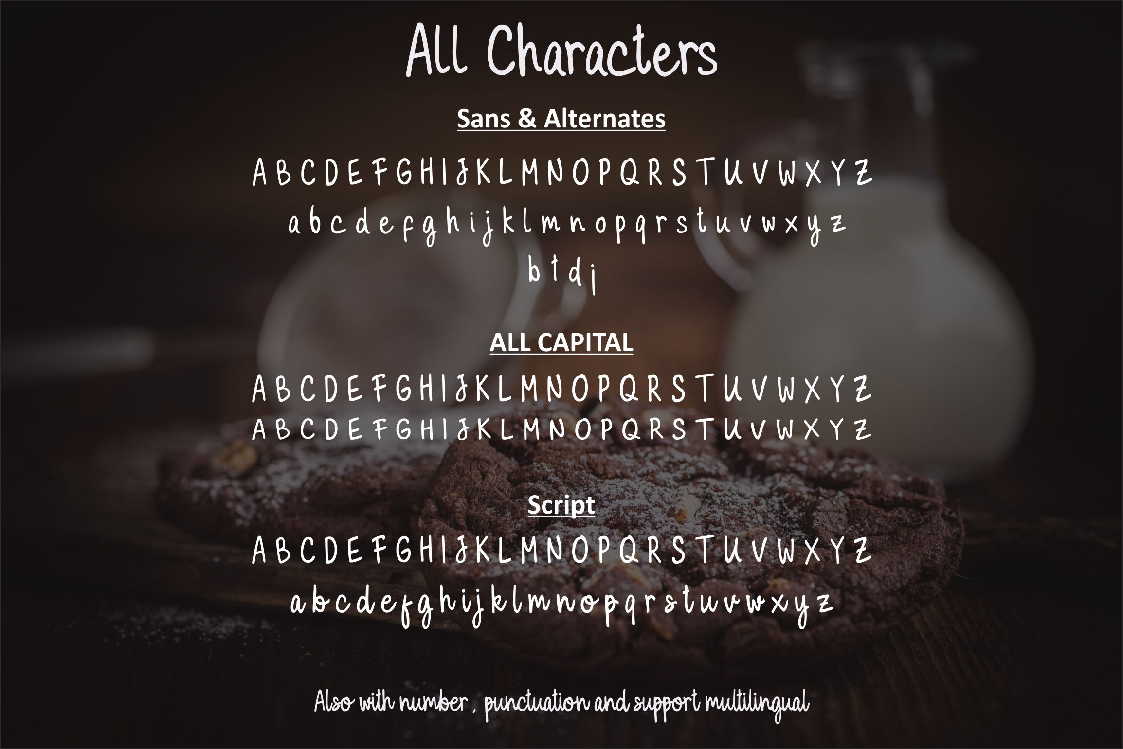 Milky Cookies Typeface example image 9