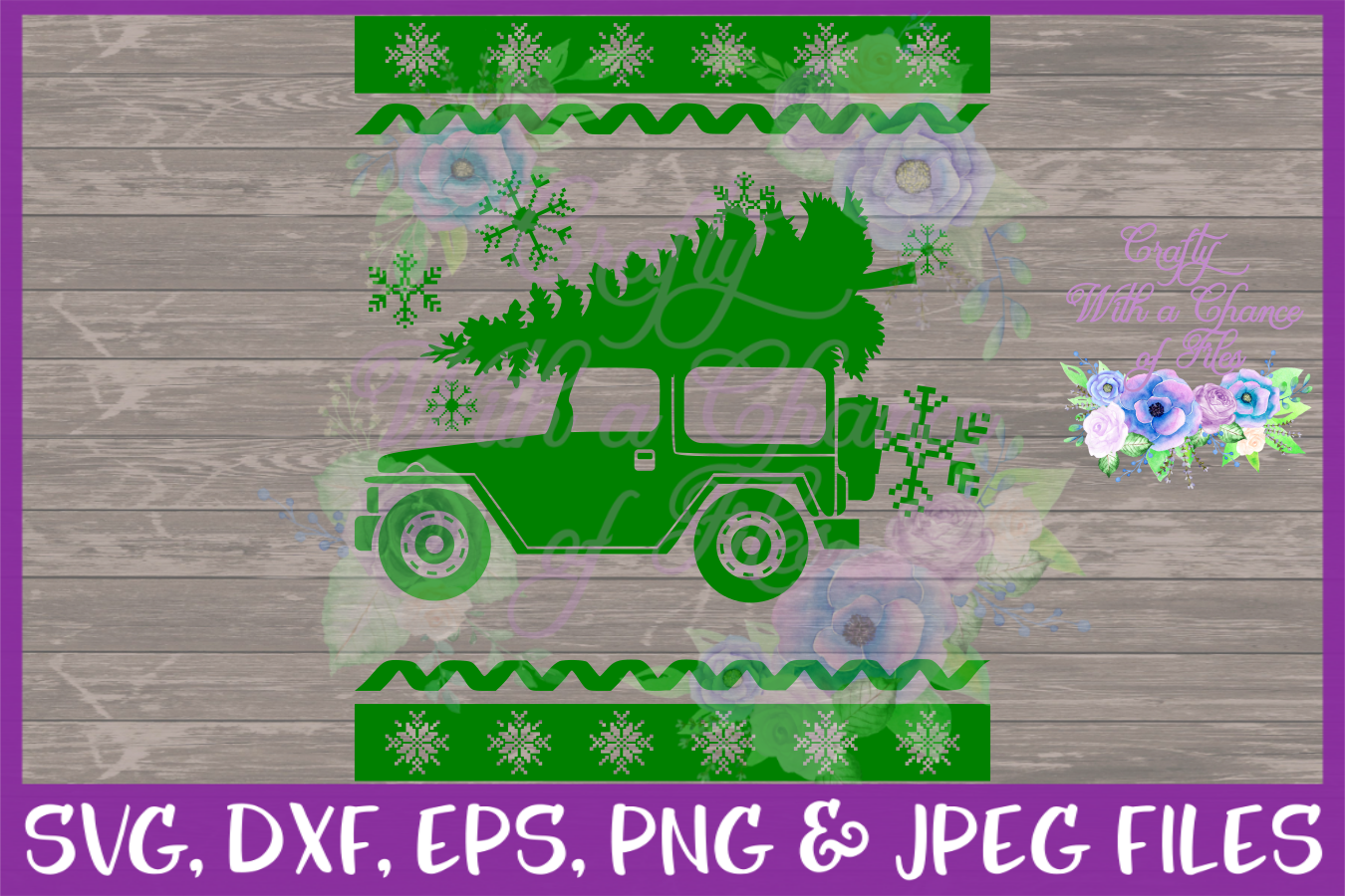 Ugly Sweater SVG - Christmas Party Shirt Design example image 2