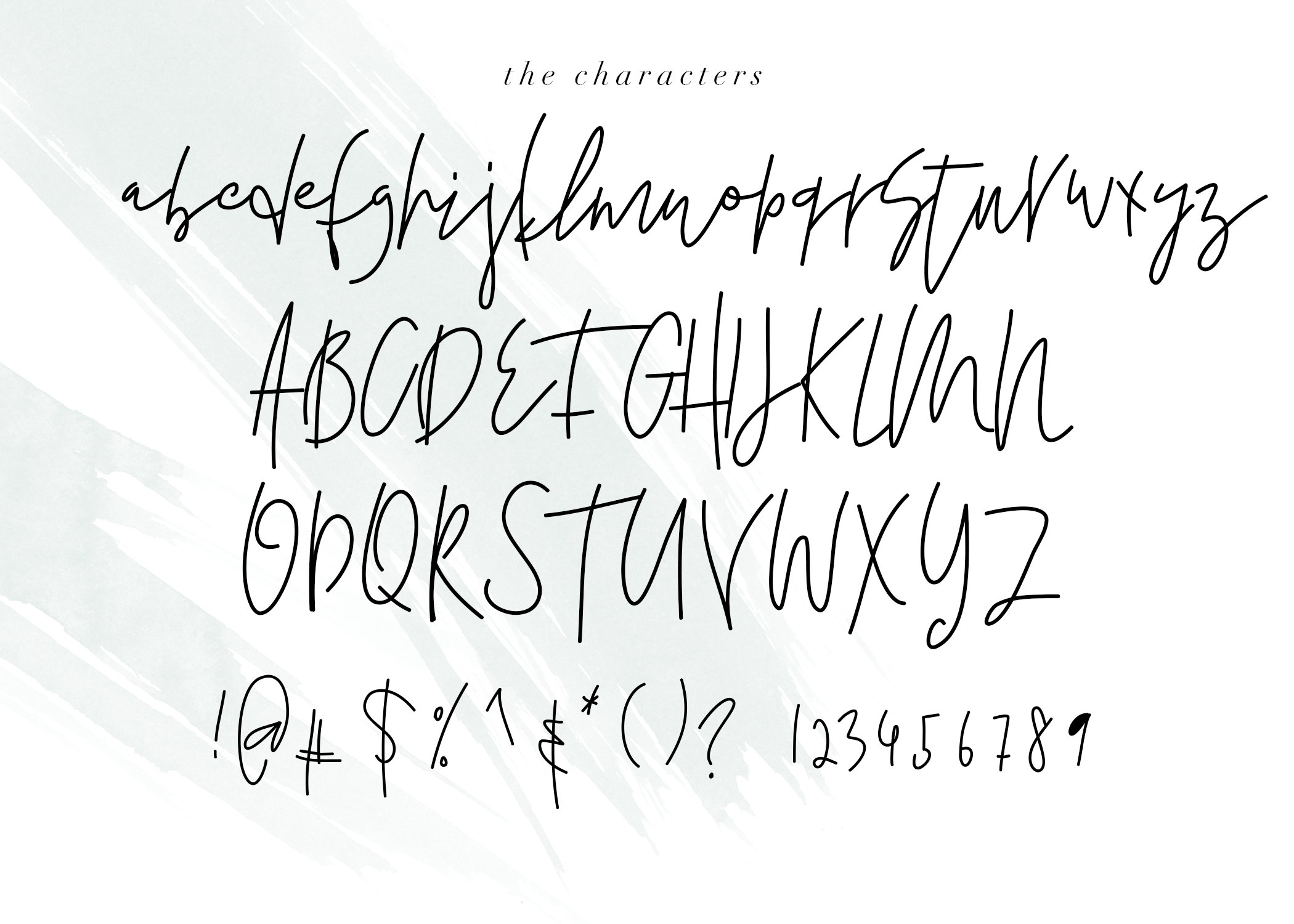 Salt Water - Handwritten Chic Font example image 6
