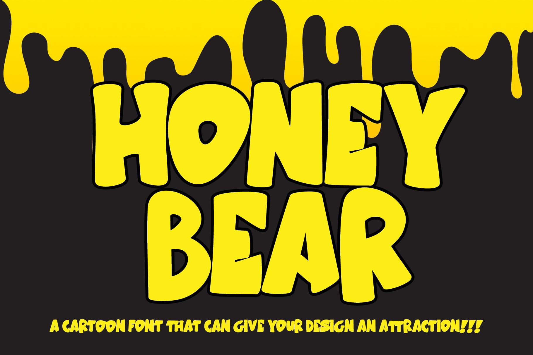Honey Bear example image 1