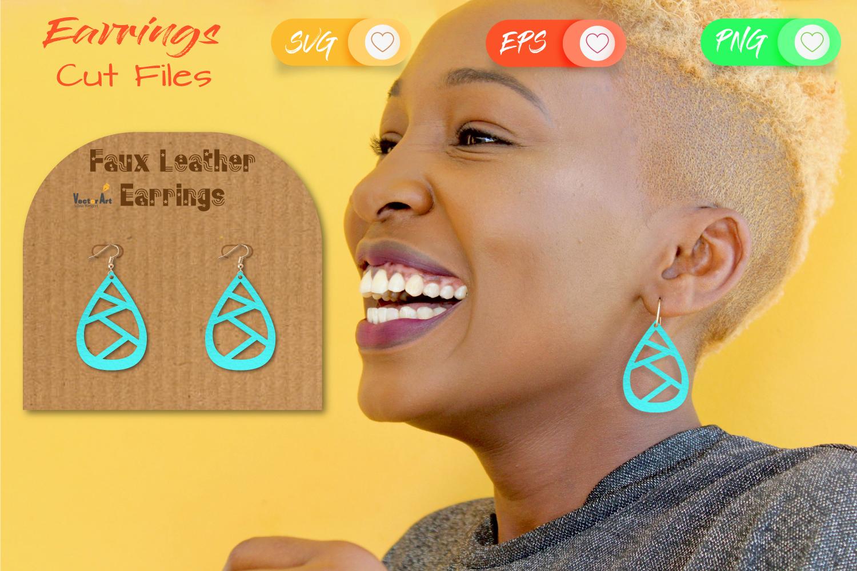 6 Earrings - Mini Bundle - Cut files example image 8