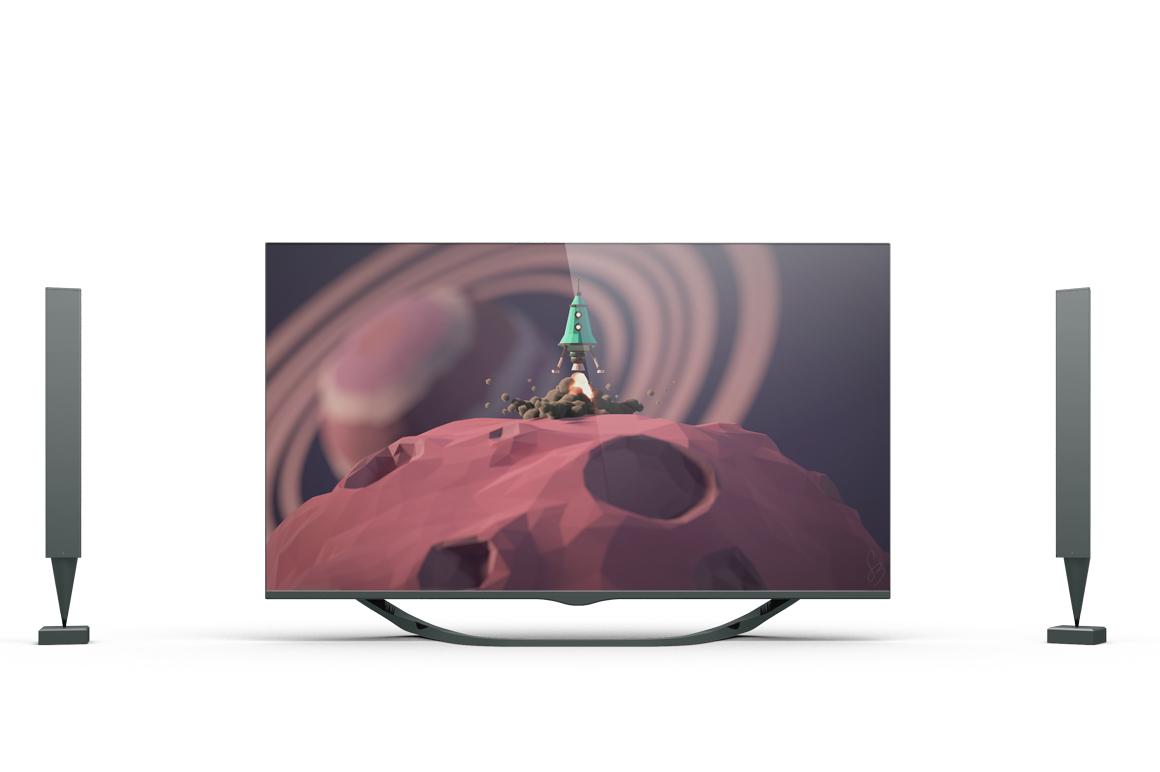 Smart TV Mockup example image 4