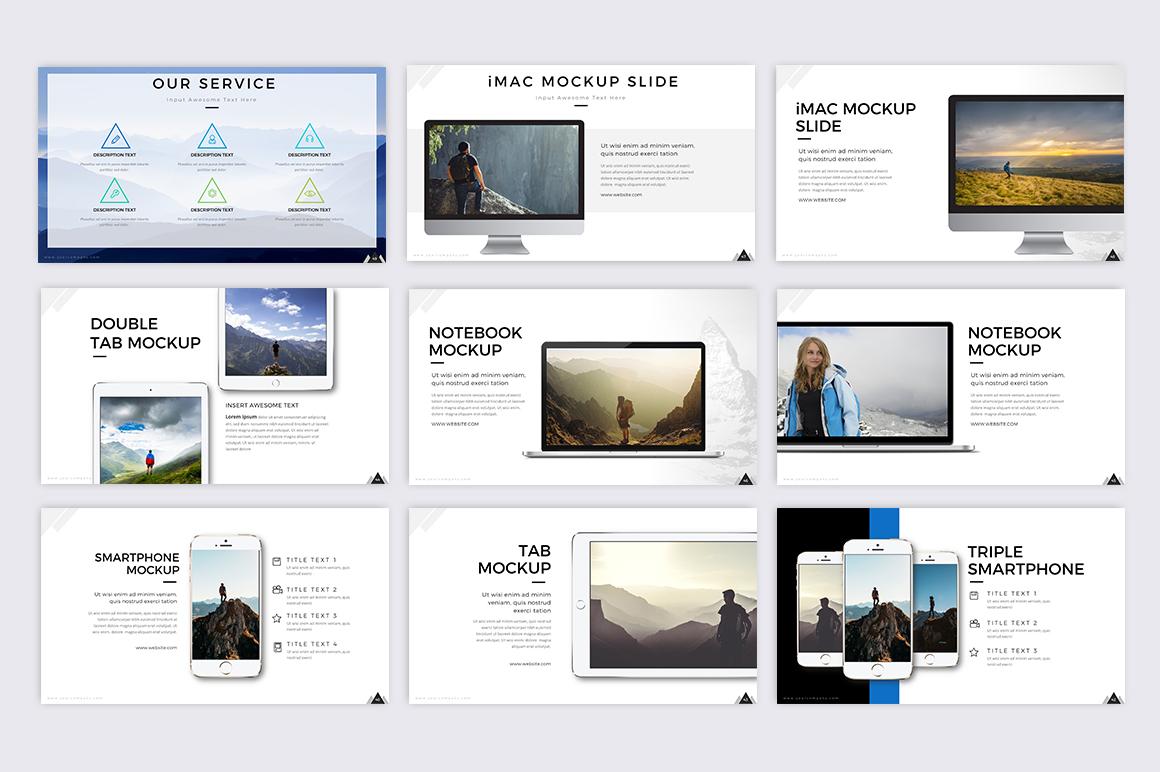 Mountain - Creative Presentation example image 5
