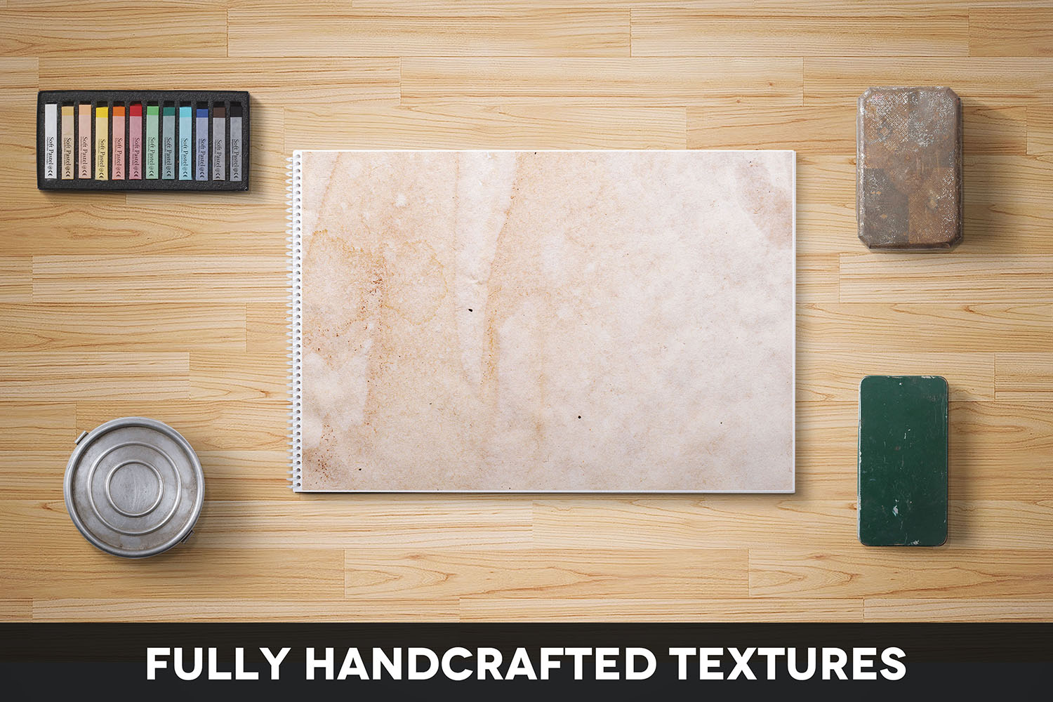 Handcrafted Vintage Paper Textures Vol. 01 example image 2