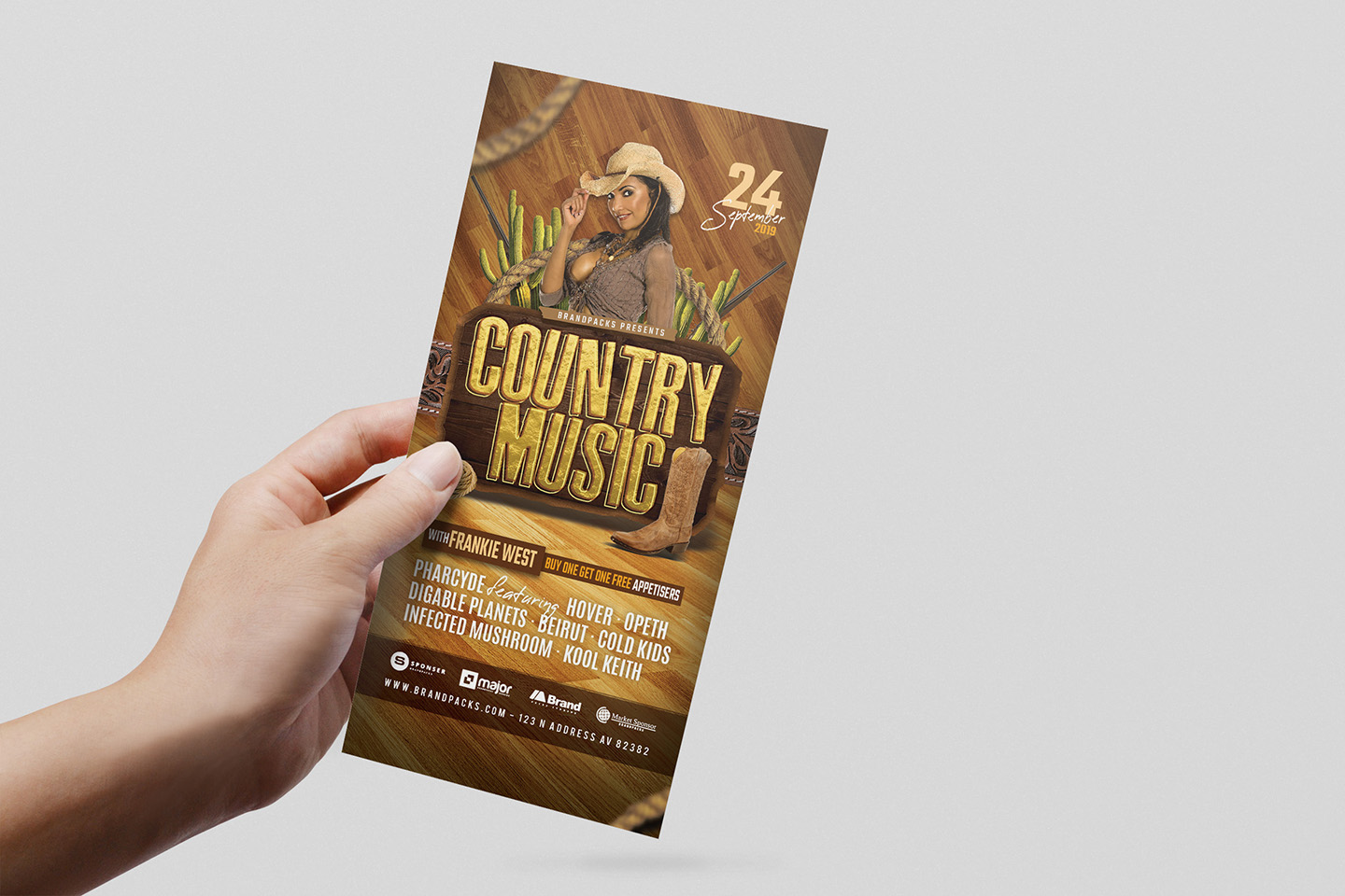 Country Music Flyer Template example image 6