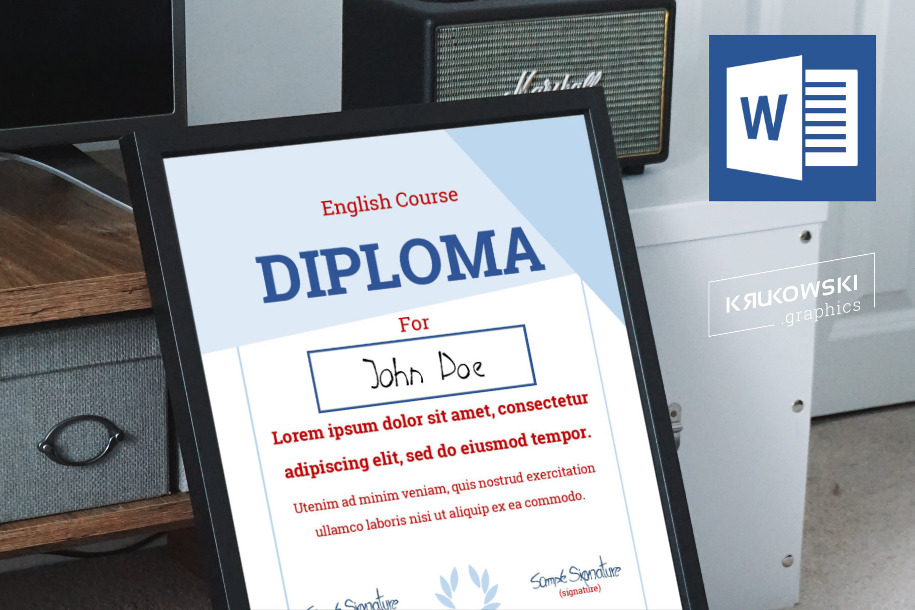 10 Diploma Templates .doc Bundle Pack 50 off example image 3