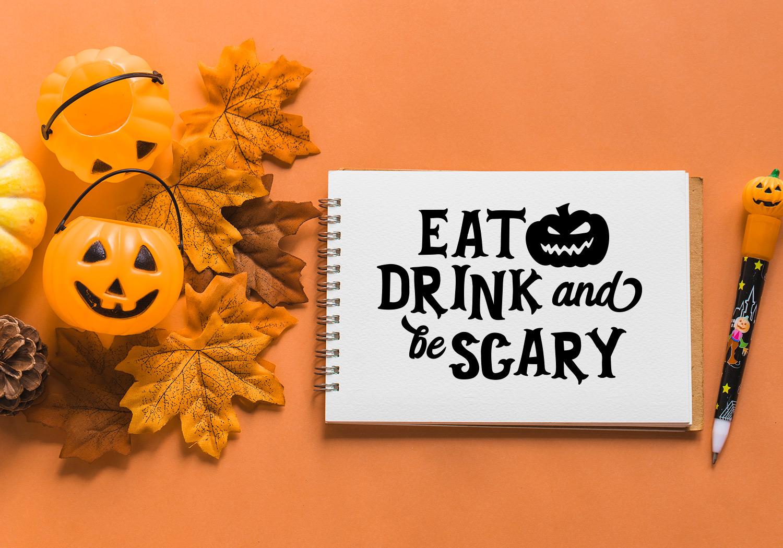 Halloween SVG Cut File Bundle example image 6
