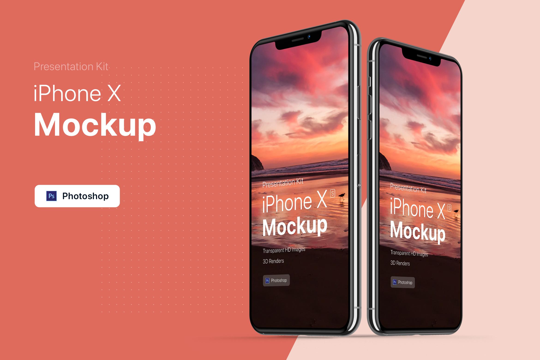 Presentation Kit - iPhone showcase Mockup_v6 example image 1
