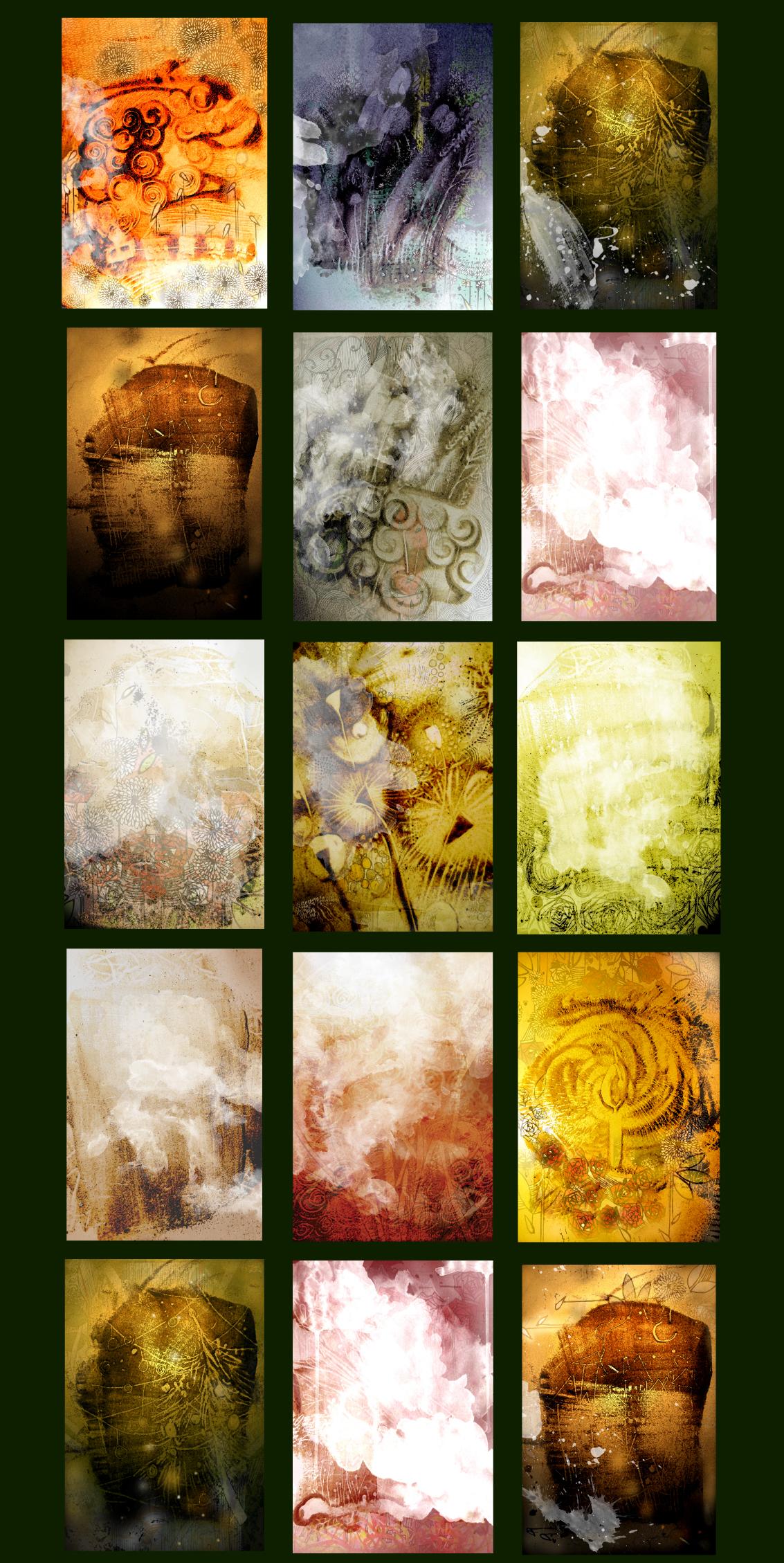 Unique Graphic background Texture BUNDLE example image 3
