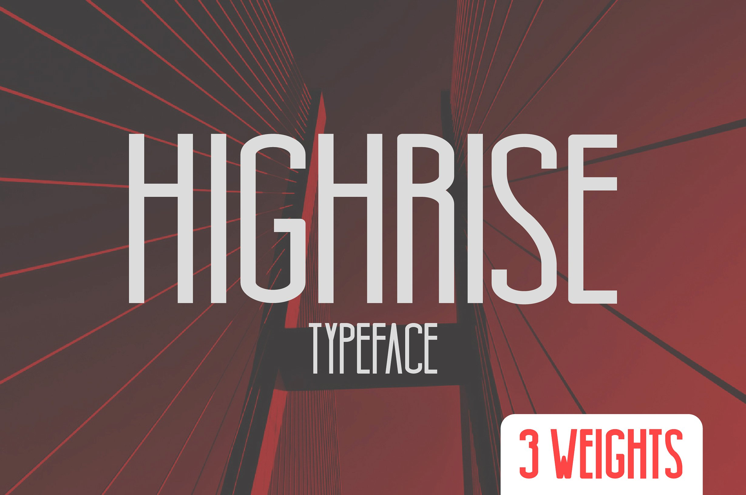 Highrise Typeface example image 1