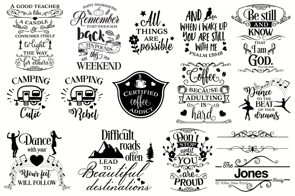 The Big SVG Cut Files Bundle - Limited Promotion! example image 2