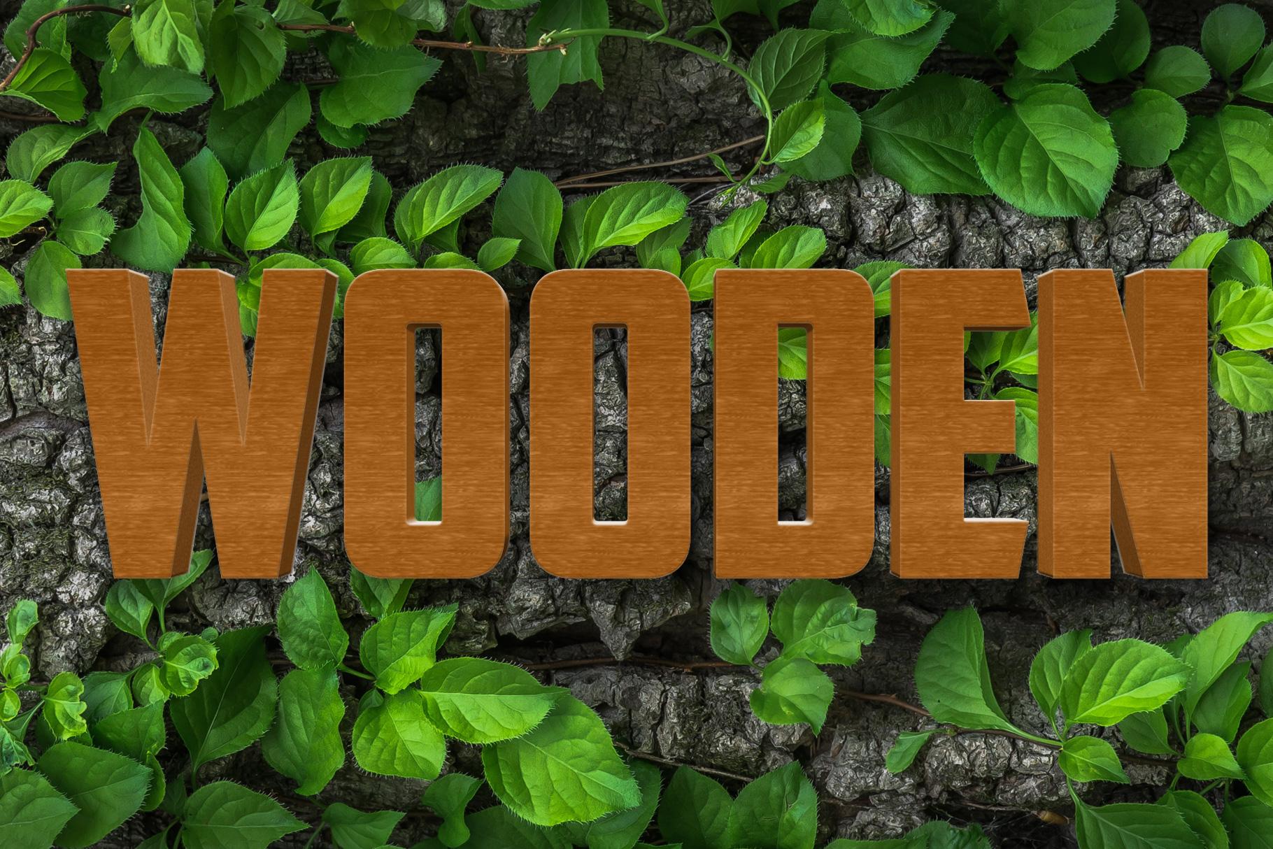 10 Wood Style for Photoshop example image 8