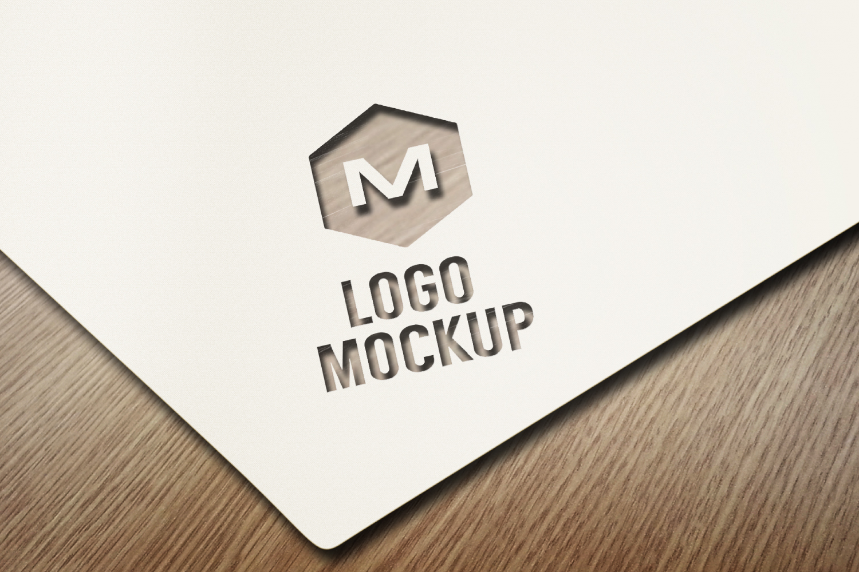 8 logo mockups, 3d wall mock up example image 6