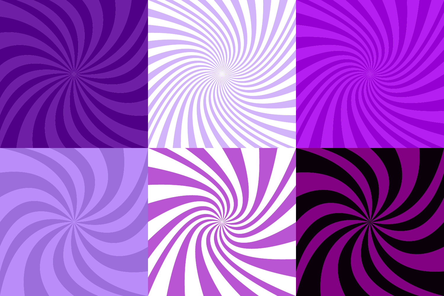 24 Purple Spiral Backgrounds AI, EPS, JPG 5000x5000 example image 3