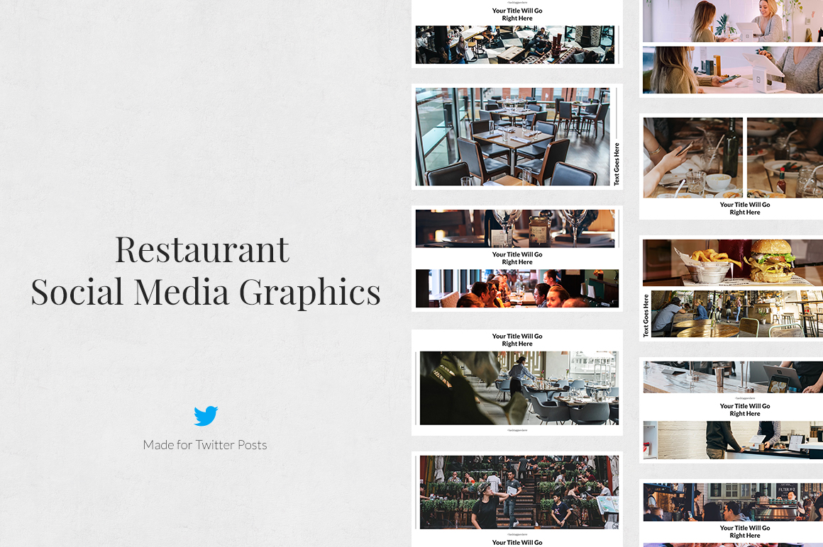 Restaurant Twitter Posts example image 1