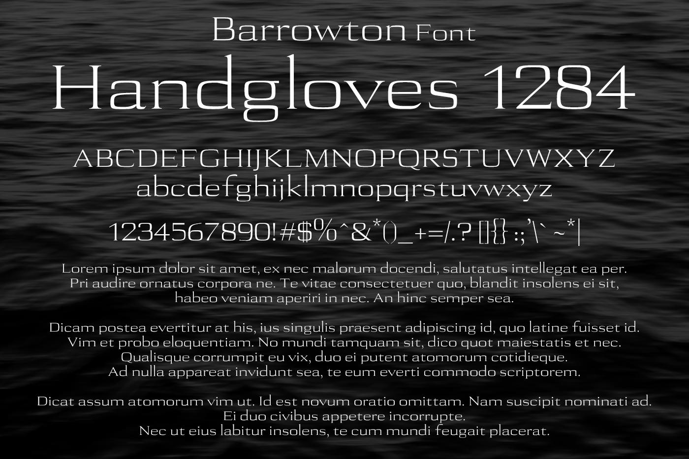 Barrowton Font example image 2