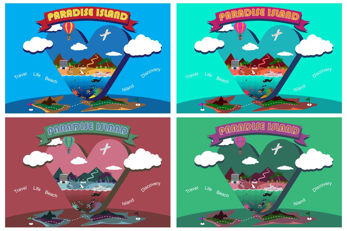 Paradise island. example image 3