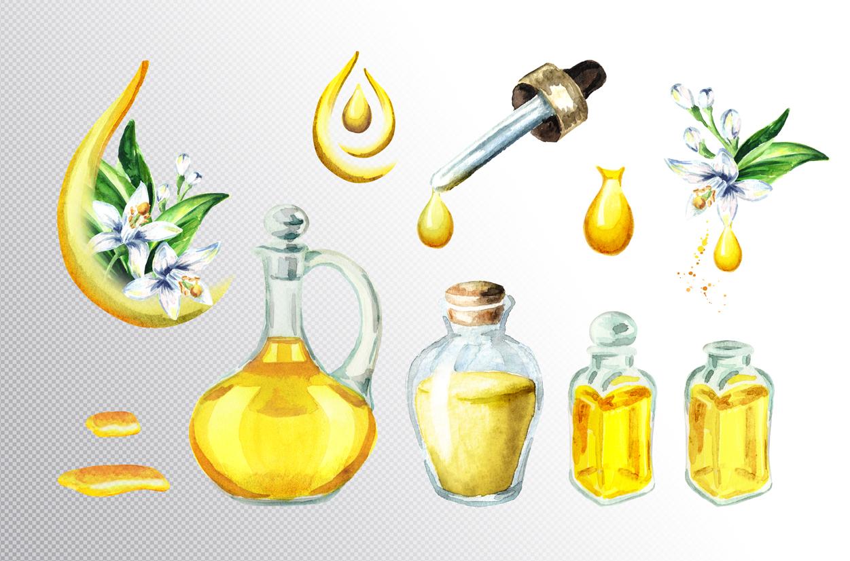 Neroli. Watercolor collection example image 5